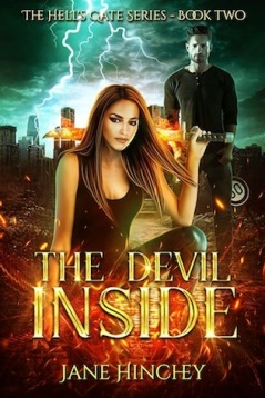 The Devil Inside Hell's Gate #2 Jane Hinchey  book cover