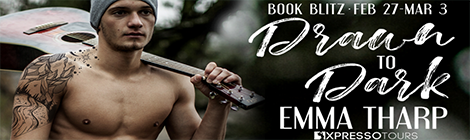 drawn to dark emma tharp book blitz banner xpresso book tours drunk on pop