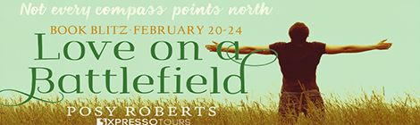 love on a battlefield novella posy roberts book blitz banner drunk on pop xpresso book tours