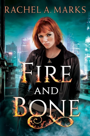 Fire and Bone Otherborn book series book cover rachel a. marks