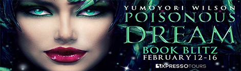 Poisonous Dream by Yumoyori Wilson (Starlight Gods #5) book blast banner drunk on pop xpresso book tours