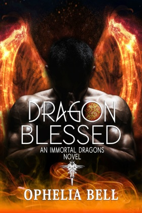 dragon blessed ophelia bell book cover