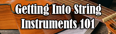 Getting Into String Instruments 101 drunk on pop guest post banner
