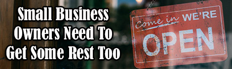 Small Business Owners Need To Get Some Rest Too drunk on pop guest post banner