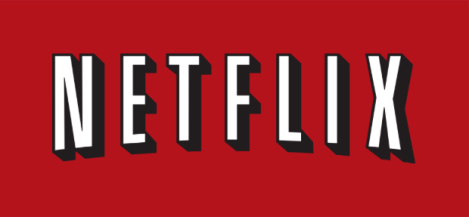netflix logo streaming service stock photo