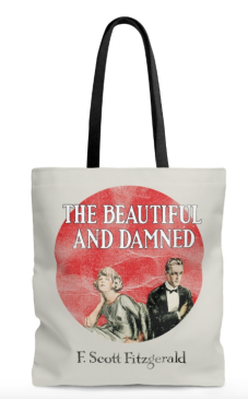 F-Scott-Fitzgerald-The Beautiful-and-Damned-Tote-Bag