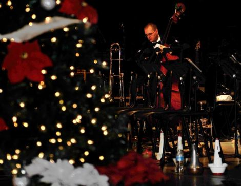 scott air force base christmas music live music