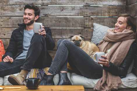 couple romantic cozy dog winter stock photo pexels-photo-374845