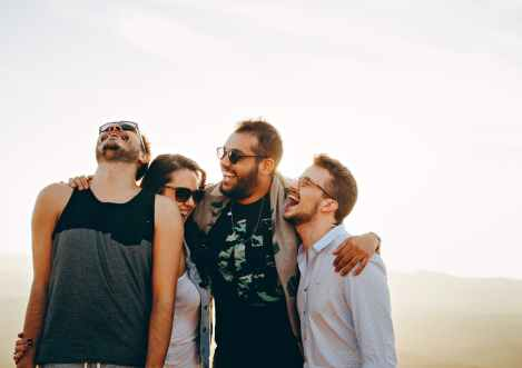 group of friends laughing stock photo pexels-photo-708440