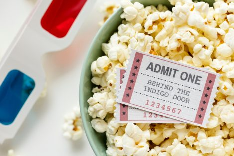 home entertainment stock photo popcorn movie night 3d-bowl-cinema-1353368