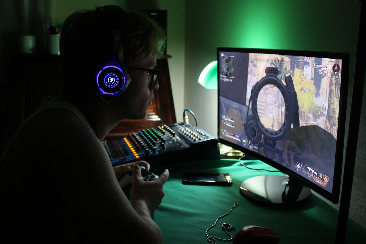 gamer stock photo